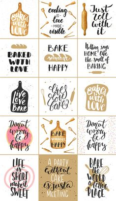 Bakery quotes and posters # bags # labeled # invitations # shirts, . Bakery quotes and posters # bags # labeled # invitations # shirts, # Bakery quotes Hand Lettering Quotes, Brush Lettering, Typography Quotes, Fonts Quotes, Lettering Ideas, Art Quotes, Bakery Quotes, Bakery Slogans, Home Bakery