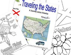 Printable Map Of Usa They Also Have A Beautiful Colored Version But This One Has Names Of States And Capitals Cool For School Pinterest Printable