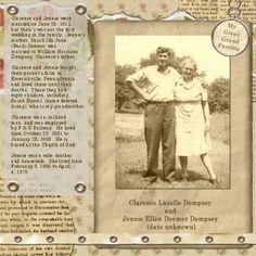 """My Great Grandparents"""