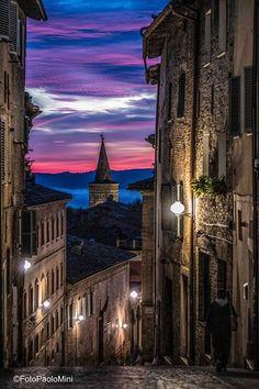 Urbino, Via Raffaello FotoPaoloMini
