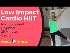 LOW IMPACT Progressive CARDIO HIIT |  Full-Length Fat Burn Home Workout ... This LOW IMPACT cardio HIIT workout features plenty of heart-pounding cardio exercises without all the pounding on your joints (or downstairs neighbors).  We're starting with short, high intensity bursts and gradually progressing to long, challenging intervals of cardio exercises for a full body fat burn.  Find more FREE home workouts at www.PahlaBFitness.com