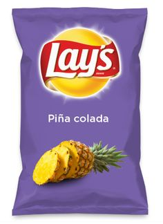 Wouldn't Piña colada be yummy as a chip? Lay's Do Us A Flavor is back, and the search is on for the yummiest chip idea. Create one using your favorite flavors from around the country and you could win $1 million! https://www.dousaflavor.com See Rules.