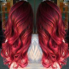 Red Rose! @jayrua_glam #lasvegas @pravana @olaplex Thanks for the hashtag! #angelofcolour