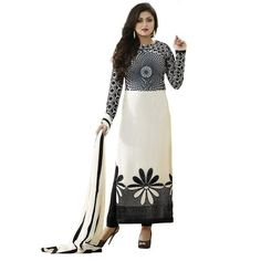 LadyIndia.com # Straight Suit, Faux Cotton Salwar Suit Dress Material Flower Print Design Office Wear Suit Dress, Unstitched Suit, Salwar Suit Duptta Set, Dress Material, Anarkali Dress, Straight Suit, https://ladyindia.com/collections/ethnic-wear/products/faux-cotton-salwar-suit-dress-material