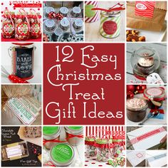 Christmas holiday food gift ideas with free printables via lilblueboo.com including @Jennifer Hadfield @Amy Locurto | Living Locurto @Paging Supermom @Kristyn {lilluna.com} and others!