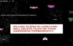 Lose Lose, videogioco che vi danneggia i file del PC #lose #cancellare #file #danneggiamento