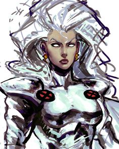 Storm Cartoon Xmen