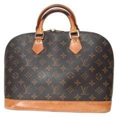 Louis Vuitton Monogram Alma Brown Bag - Satchel  423 Louis Vuitton Alma 50cdbe6cdcec5