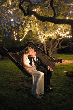Draping some strings of lights between trees would be lovely Tent Wedding, Wedding Pics, Garden Wedding, Summer Wedding, Our Wedding, Dream Wedding, Twilight Wedding, Lopez Island, Bistro Lights