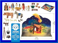 PLAYMOBIL� set #3996 - Nativity Manger