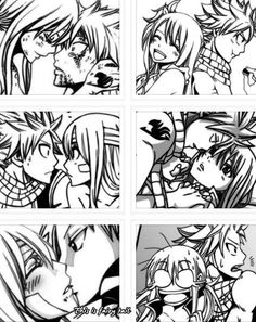 Fairy tail natsu and Lucy lots of scenes Fairy Tail Funny, Fairy Tail Natsu And Lucy, Fairy Tail Art, Fairy Tail Love, Fairy Tail Guild, Fairy Tail Manga, Fairy Tail Ships, Anime Fairy, Fairy Tales