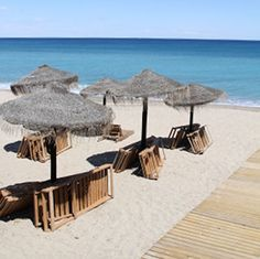 Mojacar beach - an Andalucian village with long, unspoilt beaches almost all year through.