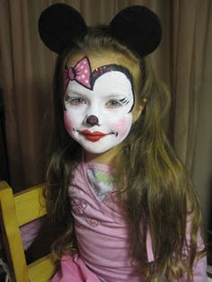 mini mouse face paint my work pinterest mini mouse minis and mice. Black Bedroom Furniture Sets. Home Design Ideas
