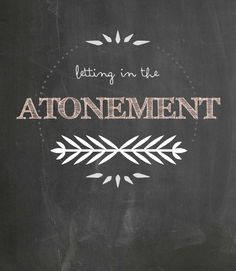 Stand & Shine Magazine: Letting in the Atonement