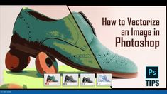 How To Vectorize A Color Image | Photoshop Tutorial | Convert Raster to ... Image Editing, Photo Editing, Convert Image To Vector, Raster To Vector, Article Design, Colour Images, Photoshop Tutorial, Chelsea Boots, Latest Trends