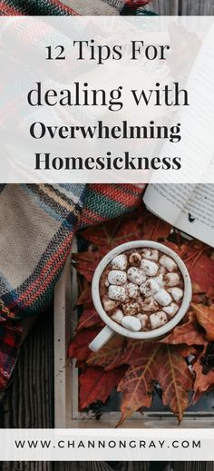 12 Tips for Dealing with Overwhelming Homesickness – Channon Gray Homesickness can be overwhelming, frustrating, upsetting and it can hinder your time at university, college or away from home. I have tips to get you through! University Essentials, University Tips, University Checklist, College Checklist, College Essentials, College Quotes, College Hacks, College Dorms, College Students