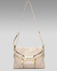 VBH Vee Mail Small Leather Shoulder Bag