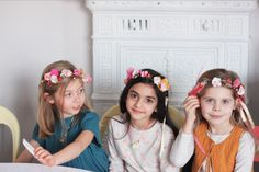 http://louisemisha.blogspot.fr/ Louise Misha flowers crowns