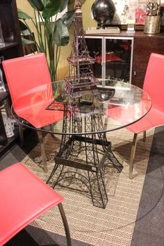 Eiffle Tower Table at Flying Fish