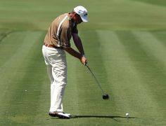 Thomas Bjorn swings during the final round of the 2007 World Golf Championships CA Championship