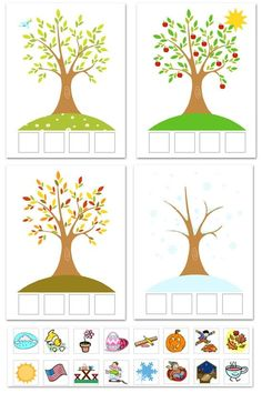 This seasonal activity I though was very interesting. I had many ideas instead of cutting and pasting you could even use stickers. This activity would help me see where the students stand with comprehending the characteristics of seasons.