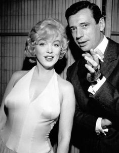Marilyn and Yves had a hot affair during the filming of Let's Make Love in 1960