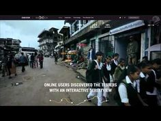 Gold Geox Casefilm design CL2013  Interactive documentary. The wettest place on earth