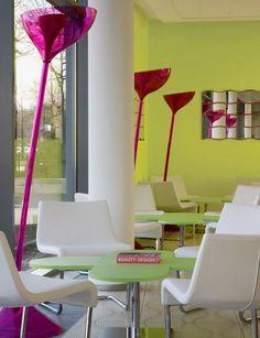 The Prizeotel Hotel in Bremen Germany by Karim Rashid