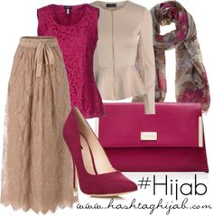 oooh, such a pretty outfit! Don't know how versatile that pink would be in my wardrobe, though :P