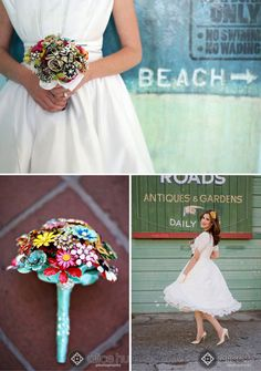 Alternative Bouquets - Photo Credit: Alice Hu Photography