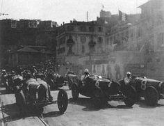 1929 Monaco Grand Prix - Marcel Lehoux, Christian Dauvergne, Philippe Étancelin