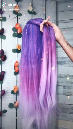 hair hairtutorial braid hairbraiding fyp for purple purplehair beauty beautyguru Easy Hairstyles For Long Hair, Braided Hairstyles Tutorials, Braids For Long Hair, How To Make Hairstyle, Box Braids, Curly Hair, Short Hair, Cool Hairstyles, Braids Tutorial Easy