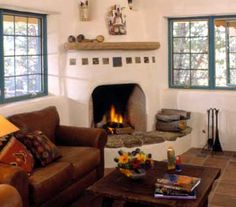 Fireplace spanish style of the fireplace mantel shelves for Fireplaces southwest