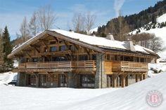 Alpine Chalet exterior.