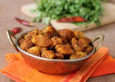 Potato Roast, classic North Indian style stir fry.