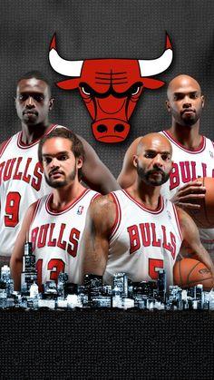 Team Player, Nba Players, Basketball Players, Chicago Bulls Basketball, Nba Chicago Bulls, Nba Stars, Sports Stars, Taj Gibson, Carlos Boozer