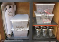 Goodbye, House. Hello, Home! Blog : Organizing Bloggers Kitchen Tour :: My Kitchen Baking Zone
