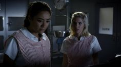 Emily and Hanna revisit the past when they sneak into the hospital's morgue. Will they find what they're looking for?