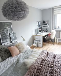 Love The Gorgeous Bedroom Of The Beautiful Vita Eos Light Shade In Grey Is  Now Available To Order In Our Online Store ✨ .