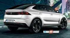 Futur Peugeot 4008 (2020) Mercedes Glc Coupe, Peugeot 4008, Diesel, Bmw X4, Fancy Cars, Motor Car, Vehicles, Design, Art