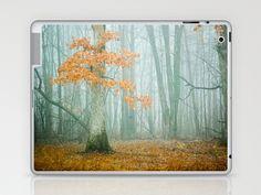 Autumn Woods Laptop & iPad Skin by Joy StClaire - $25.00