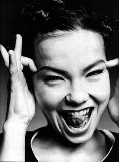 Beauty Ideal, Cool chick, Bjørk / Bjork, Black and White fashion photography. fashion icon and singer / artist. Trip Hop, By Any Means Necessary, Portraits, Human Behavior, Cara Delevingne, Famous Faces, Ikon, Divas, Documentaries