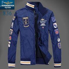 2016 Brand men jacket clothes Chaquetas hombre aeronautica militare  4b1c3f9b3a7