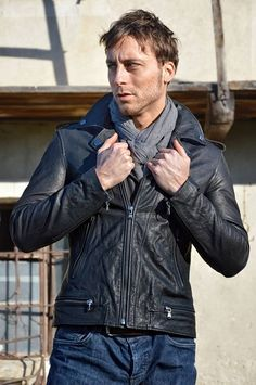 Lost In Albion Art Connor Leather Jacket