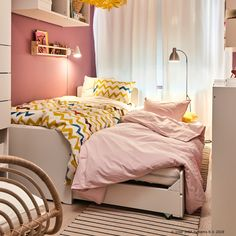 Home Decoration Cheap Ideas Ikea Girls Room, Palette, Kid Spaces, Elle Decor, Home Interior, Decoration, Baby Kids, Bedroom, Design