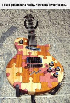Great Homemade Guitar #oneofakind #electric #guitar