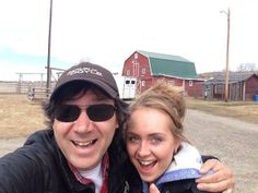 @ScainiStefan is back in the foothills of Calgary working on the season opener of @HeartlandOnCBC w/@Amber Marshall pic.twitter.com/gnJWPSRYy0