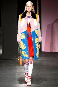 Prada, Milan, Spring 2014 Pop Art Fashion, Fashion Models, Fashion Show, Fashion Design, Fashion Trends, Milan Fashion, Fashion 2014, Spring Fashion, Fashion Inspiration