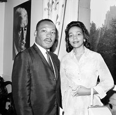 """martin luther king and his wife    MLA: Rivera, Angelic, Dana Watnick, and Laurie J. Bauman. """"Recruitment Of African American And Latino Adolescent Couples In Romantic Relationships: Lessons Learned."""" American Journal Of Health Education 42.1 (2011): 30-40. ERIC. Web. 26 Feb. 2013."""