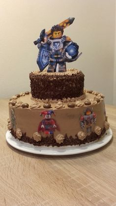 Birthday Cake Lego Nexo Knights